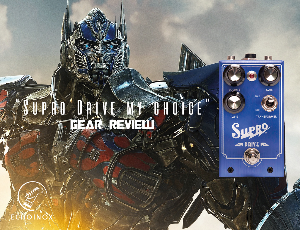 Supro Echoinox Review transformer in a stompbox