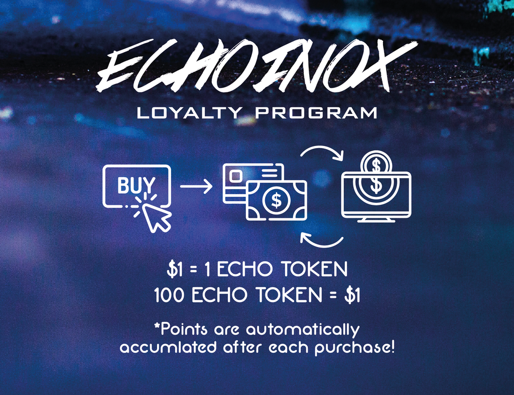 Echoinox loyalty program echo tokens rewards purchase