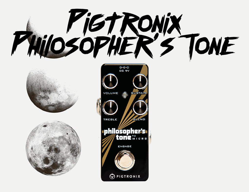 singapore pigtronix philosopher's tone compressor guitar pedals