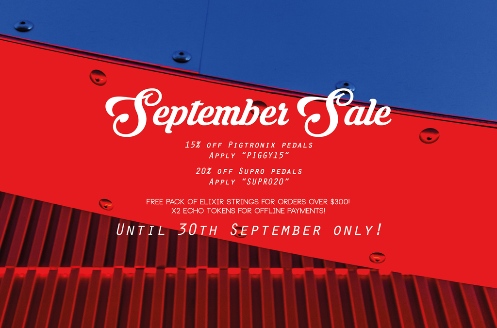 Echoinox September Sale