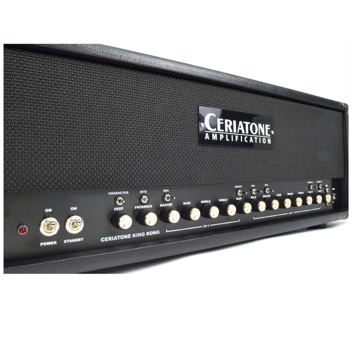 Ceriatone Hot Rodded Plexi King Kong 50W 100W Amp Head