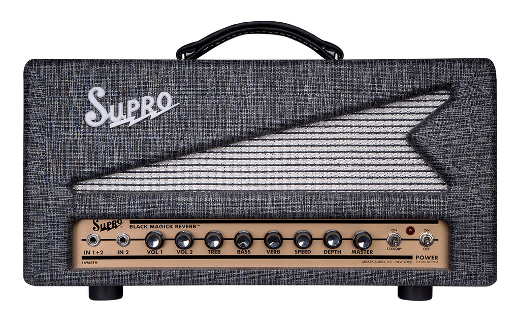 Supro 1696RT Black Magick Reverb Head