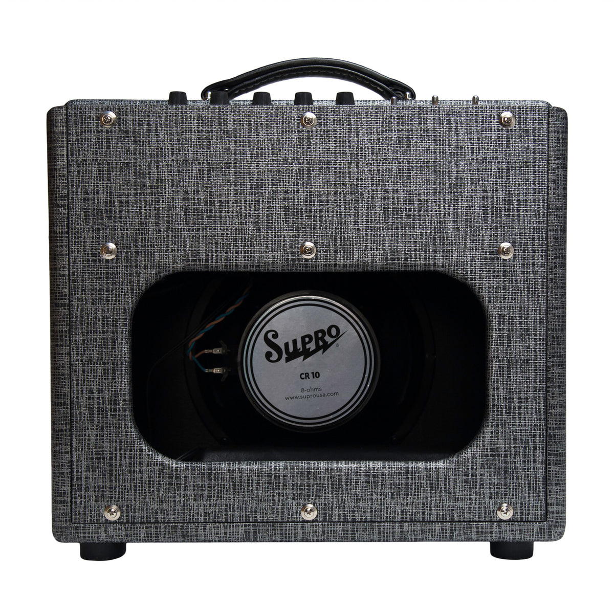 Supro Comet Combo Amplifier Back
