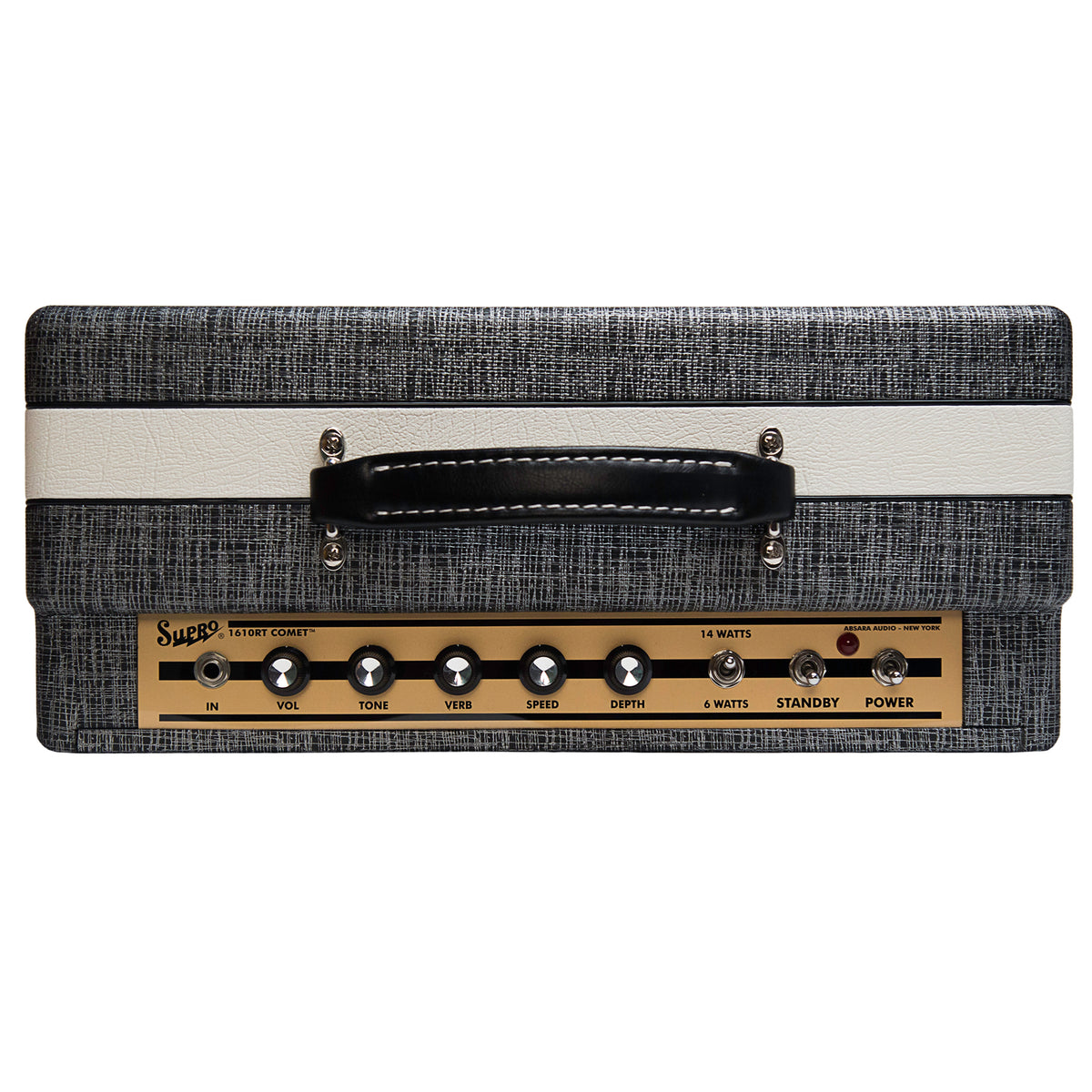Supro Comet Combo Amplifier Top