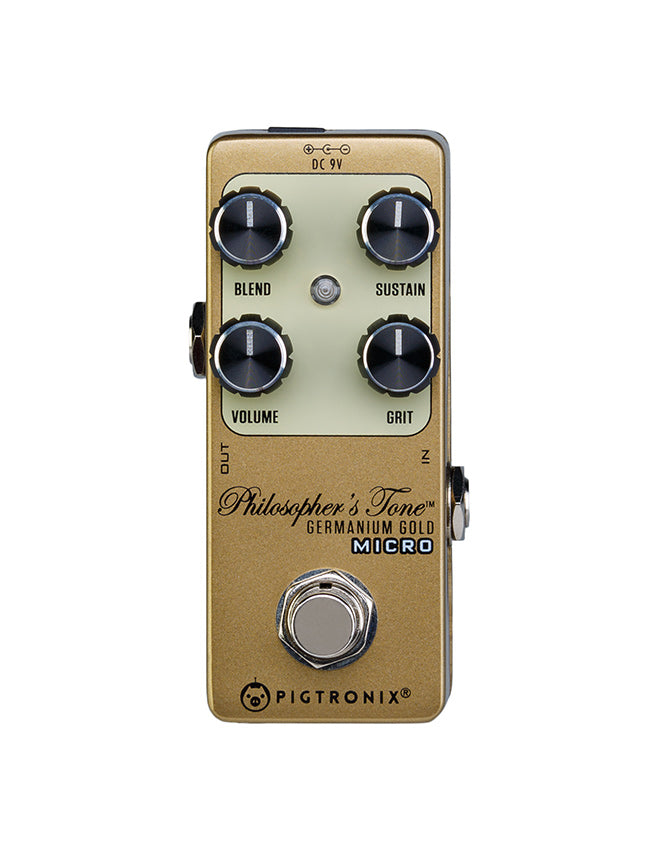 Echoinox Pigtronix Philosopher's Tone Germanium Gold Micro