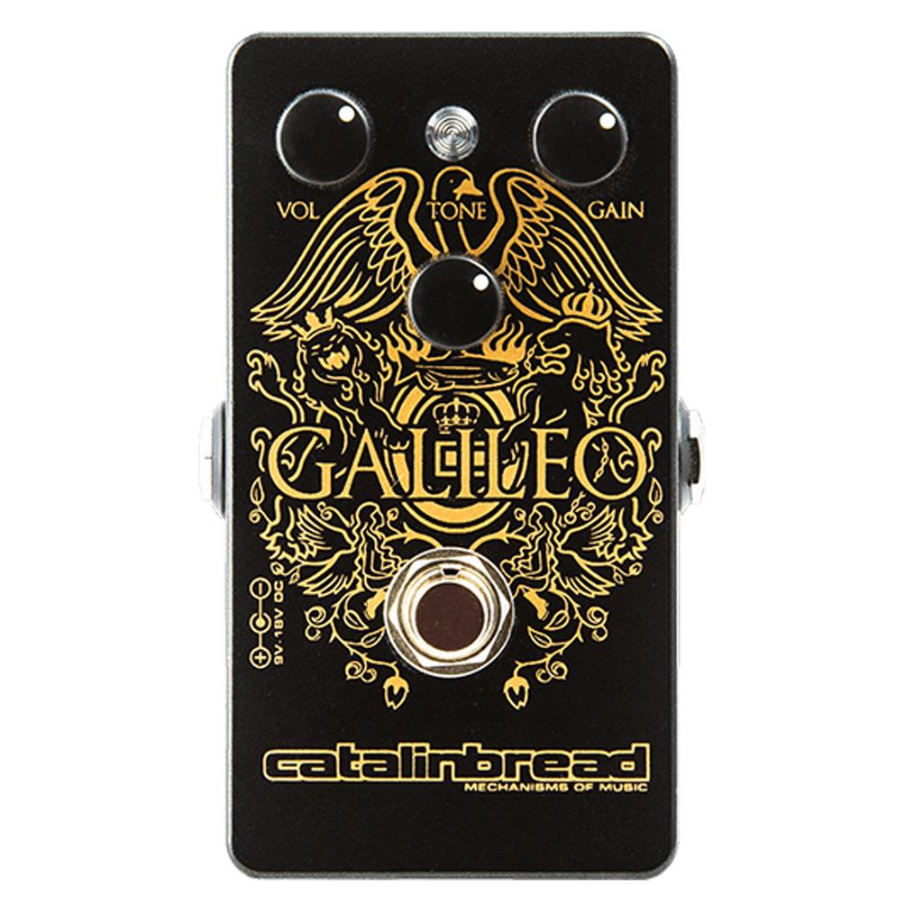 Catalinbread Galileo Treble booster Vox Brian May Queen Echoinox