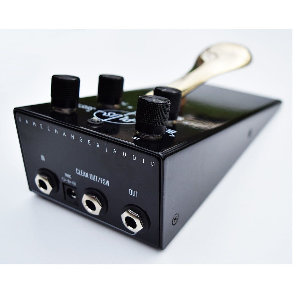 Gamechanger Audio PLUS Pedal with Wet Footswitch Echoinox