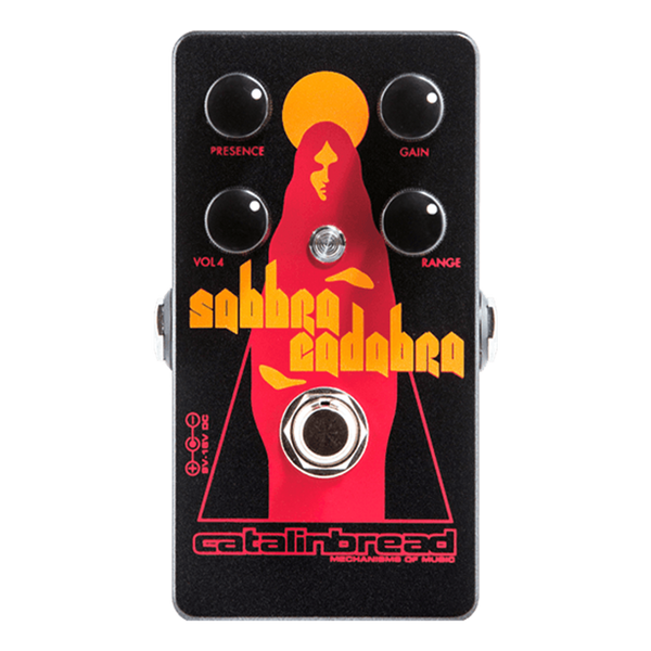 Catalinbread Sabbra Cadabra Tony Iommi Laney Treble Booster Echoinox