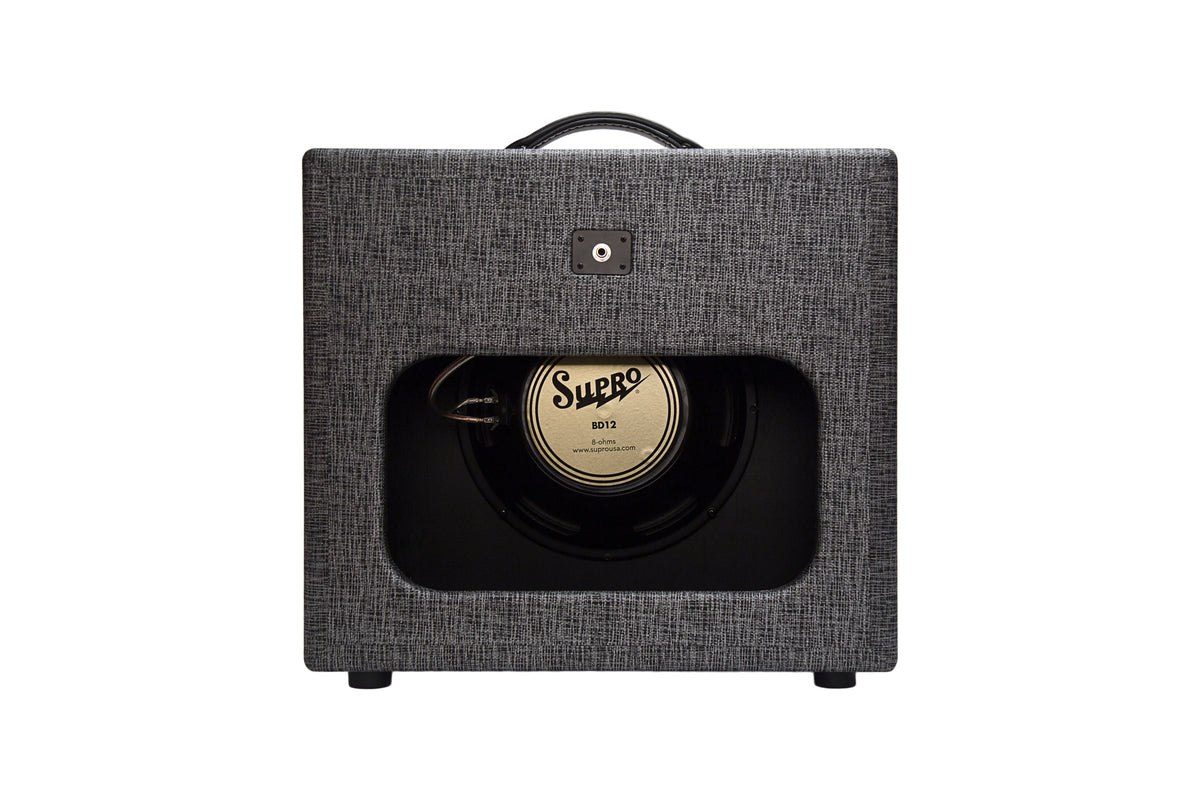 Supro Black Magick Reverb Extension Cabinet 1X12