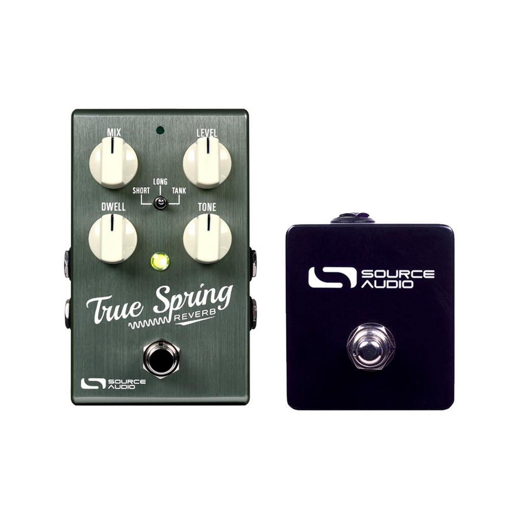 Source Audio Tap Tempo Switch Echoinox True Spring Reverb