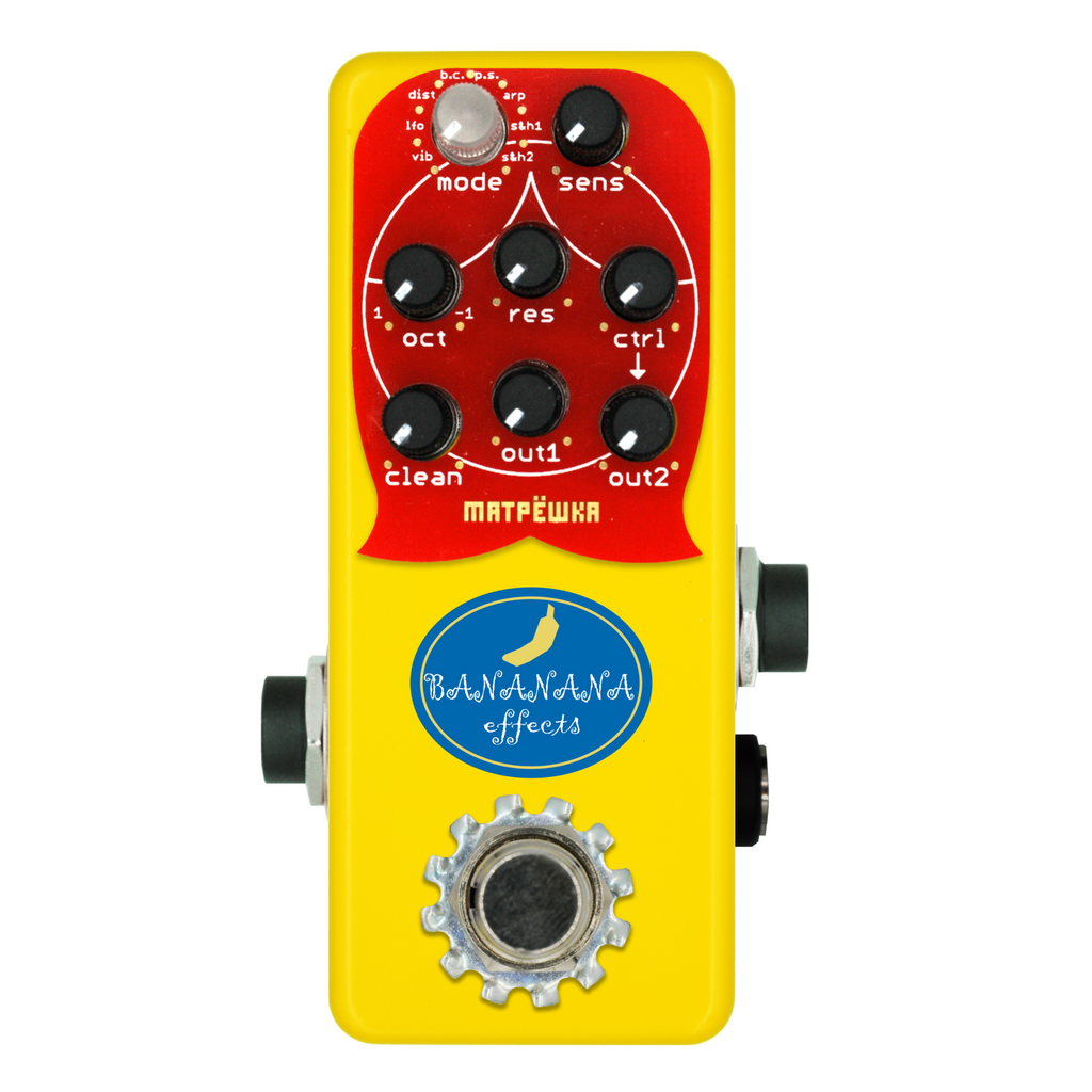 Bananana Effects Matryoshka Bass Synth Echoinox