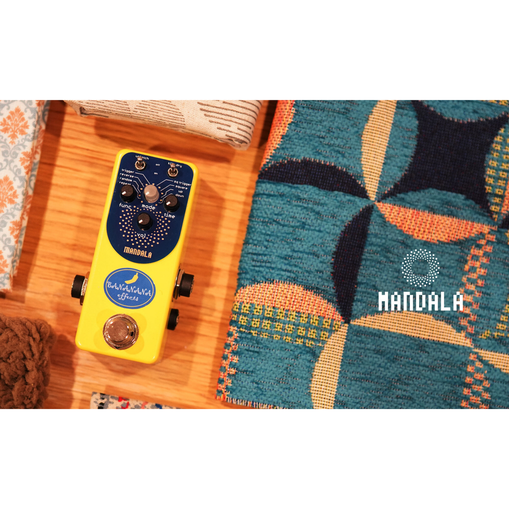 Bananana Effects Mandala Glitch Pedal Echoinox