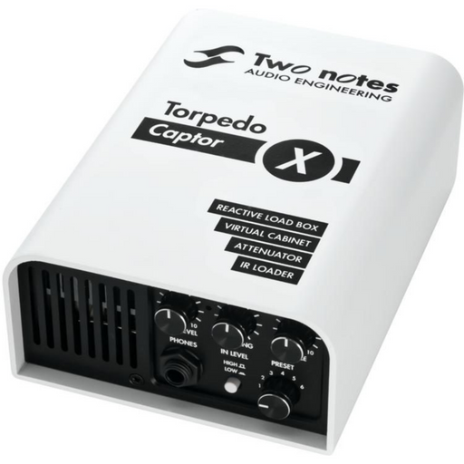 Echoinox Singapore Two Notes Torpedo Captor X Compact Reactive Load Box, Attenuator, Cab Sim, IR Loader & Stereo Expander