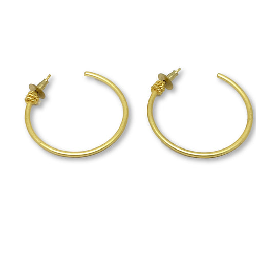 COCO GOLD HOOPS