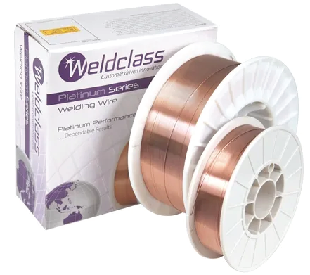Weldclass Gas Wire 0.6mm x 5kg Steel MIG Platinum 2-XMS608/06