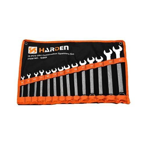 Harden 14 Piece Combination Spanner Set 540101 - United Tools Townsville