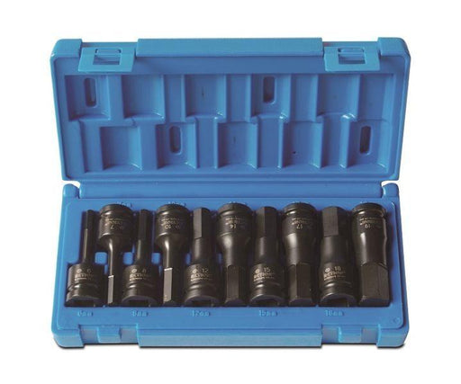 "Action Impact Socket Set In-hex 1/2"" Drive 10 Piece Metric 648251001"
