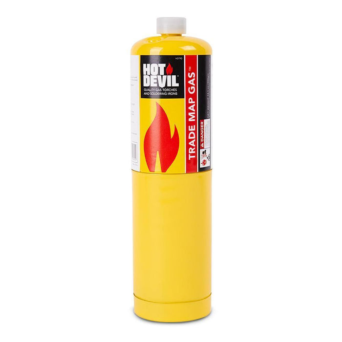 Hot Devil HDTRD 400g Trade Map Gas Cylinder - United Tools Townsville