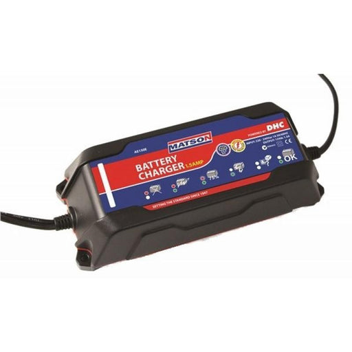 Matson Smart Battery Charger 1.5 Amp Auto Exact AE150E - United Tools Townsville