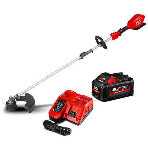 Milwaukee M18FOPHLTKIT-601 18V 6.0Ah Li-ion Cordless Fuel Outdoor Multi-Function Power Head with Line Trimmer Attachment