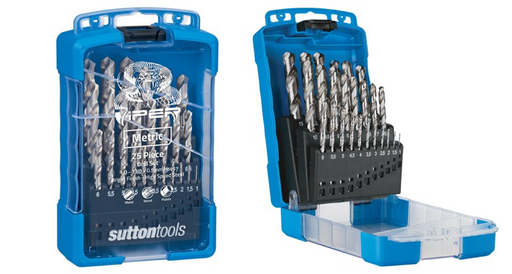 Sutton D105V3M Viper 25 Piece Metric Drill Set