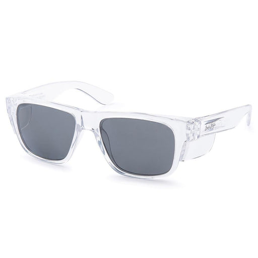 Safestyle 'Fusions' Clear Frame/Tinted UV400 Lens