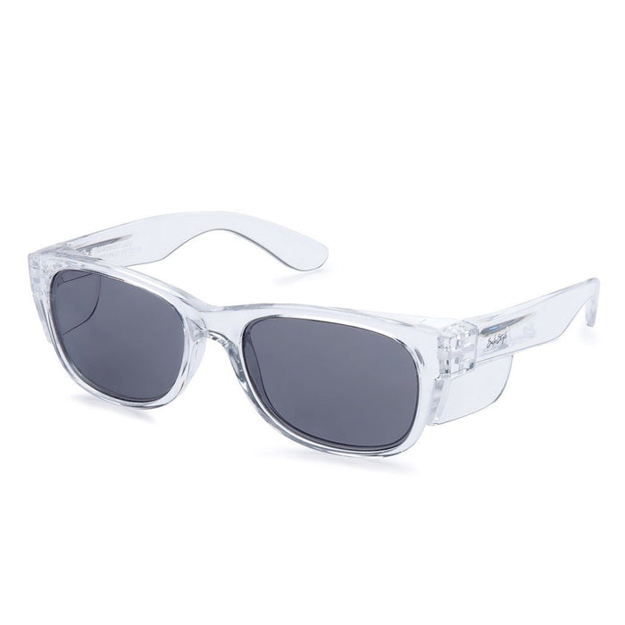 Safestyle 'Classics' Clear Frame/Tinted UV400 Lens