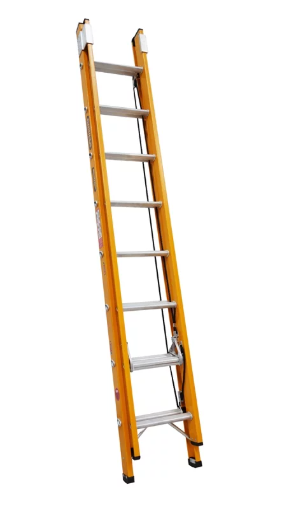 Gorilla 2.4 - 3.9m 130kg Fibreglass Extension Ladder FEL8/13-I