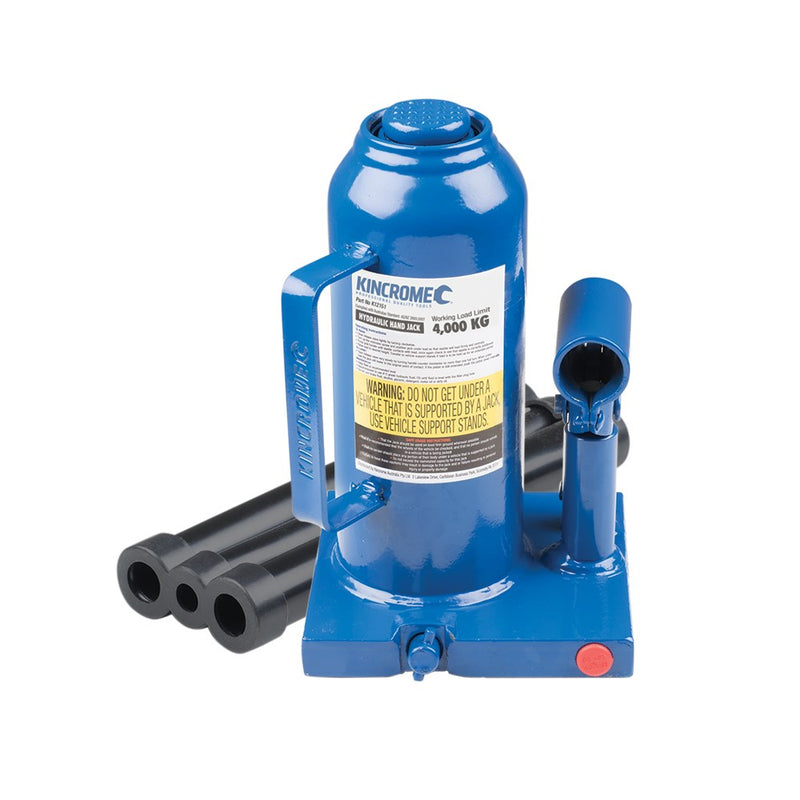 Kincrome 4,000kg Hydraulic Bottle Jack K12151