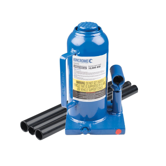Kincrome 10,000kg Hydraulic Bottle Jack K12153