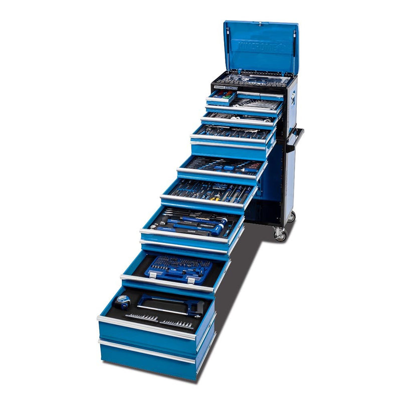 Kincrome 466 Piece 14 Drawer Evolution Tool And Roller Cab Kit K1228
