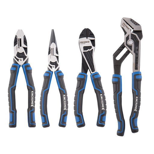 Kincrome 4 Piece Plier Set K4221