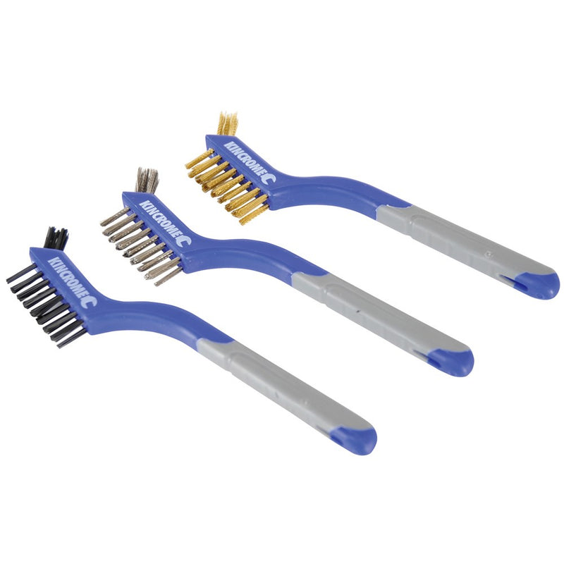 Kincrome Wire Brush Set Small 3 Piece K6350