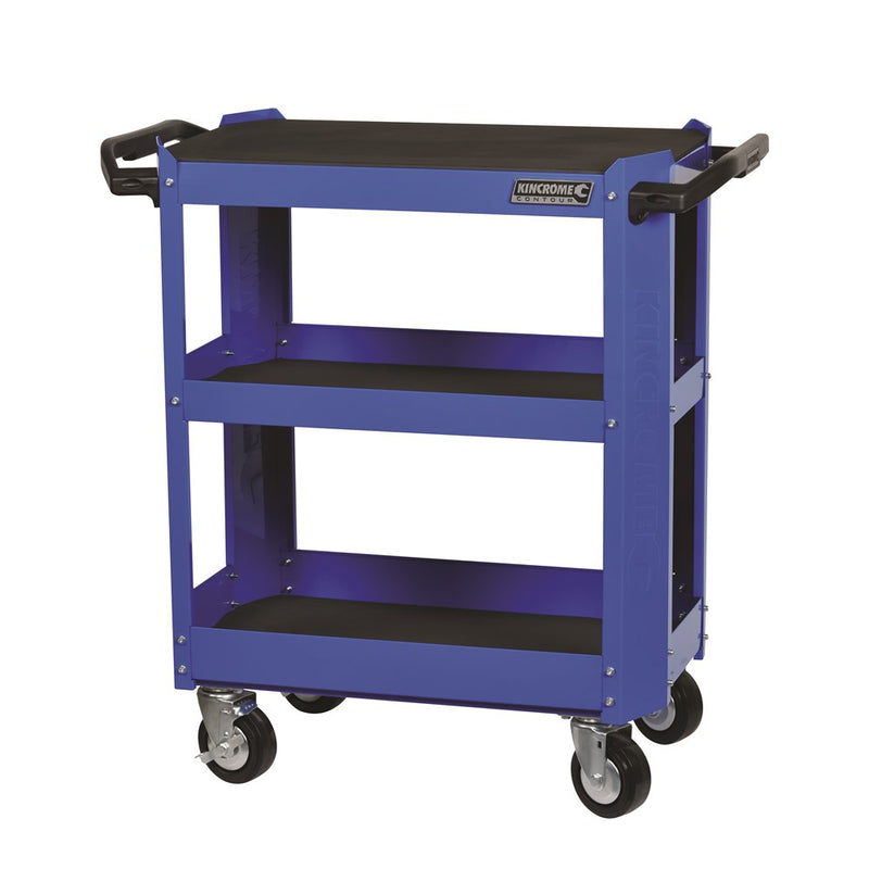 Kincrome Cart 3 Tier Contour Blue K7743