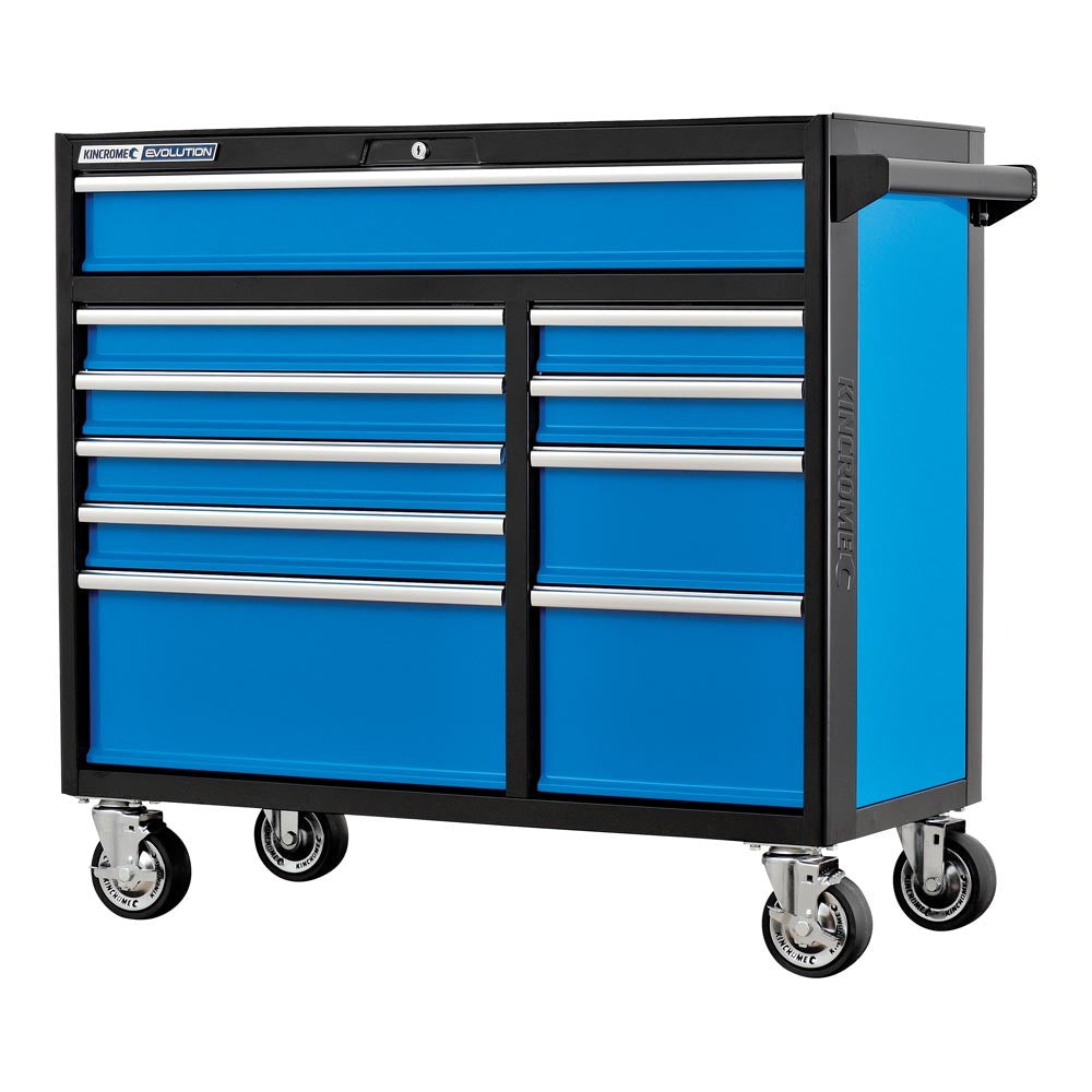 "Kincrome Evolution 10 Drawer 41"" X-Large Trolley K7945"