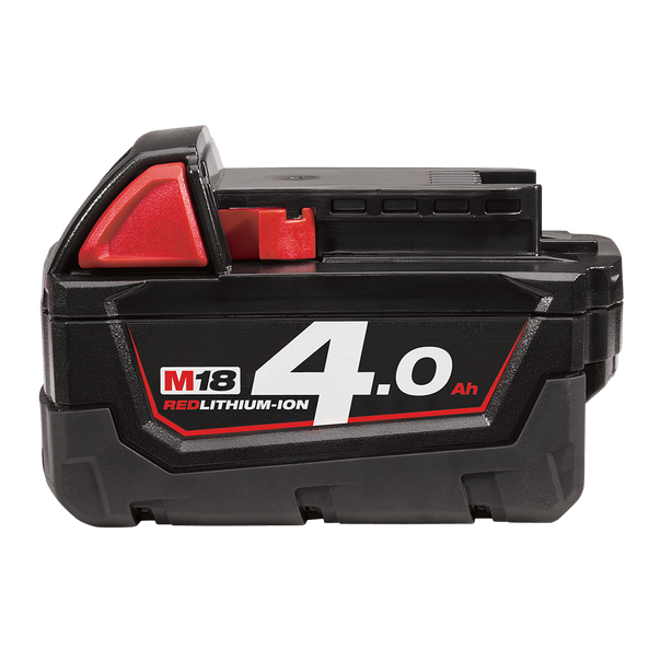Milwaukee M18 Extended Capacity Red Lithium 4.0Ah Battery Pack M18B4
