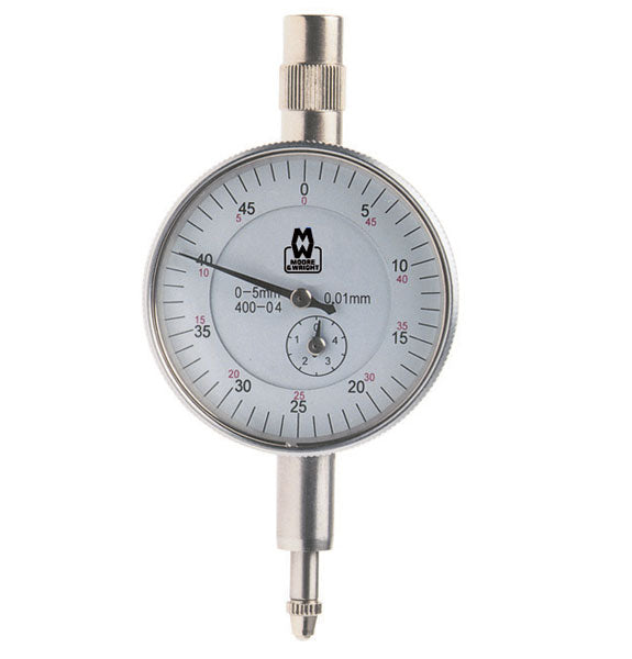 Moore & Wright Dial Indicator 0-5mm