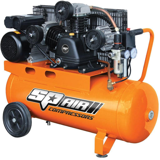 SP AIR COMPRESSOR - TRIPLE CAST IRON PORTABLE - 3HP SP18