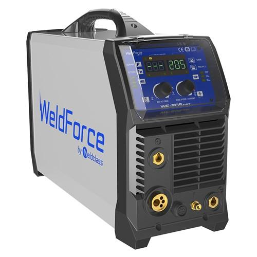 WeldForce 205 Amp MIG Stick & TIG Welder WF-205MST