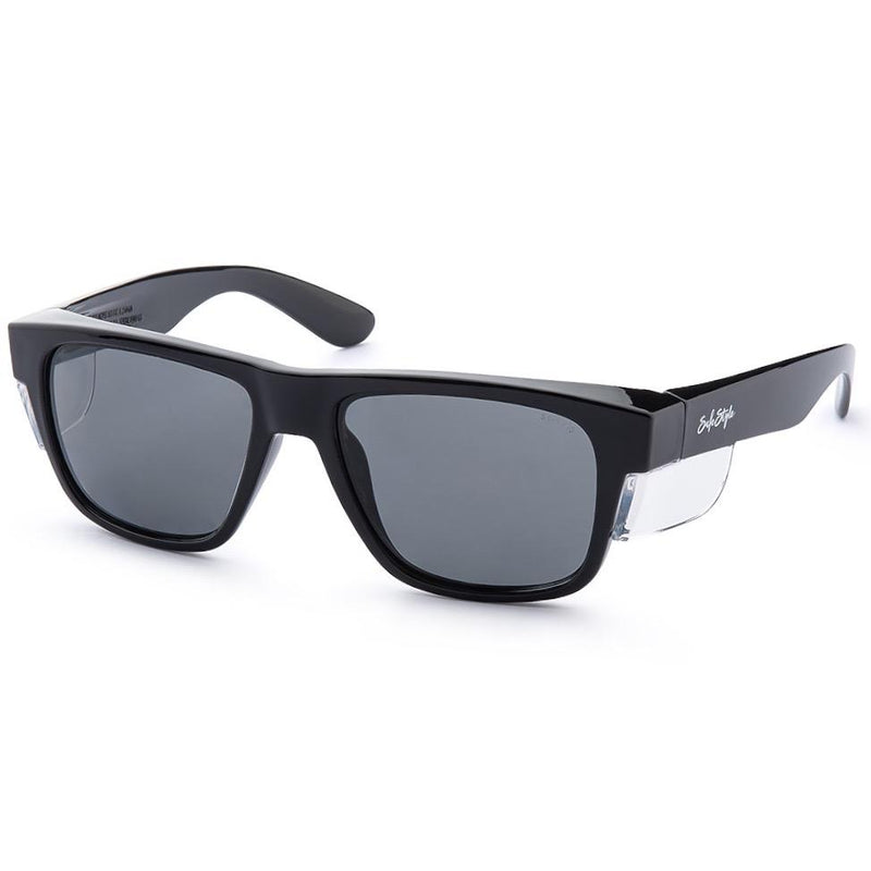 Safestyle 'Fusions' Black Frame/Tinted UV400 Lens