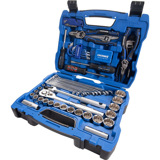 "Kincrome 85pc 1/2"" Drive Automotive Toolkit - Metric K1859"
