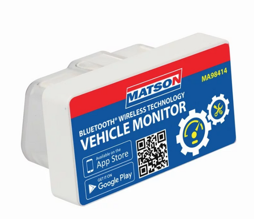 Matson Bluetooth Vehicle Monitor OBD Port Plug In MA98414 - United Tools Townsville