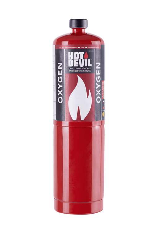 Hot Devil 400g Oxygen Cylinder HDC106 - United Tools Townsville