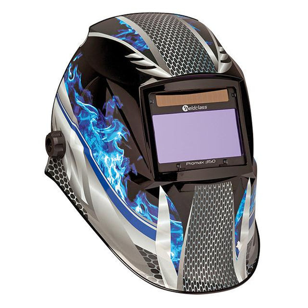 Weldclass Promax 350 Fire Metal Welding Helmet WC-05314