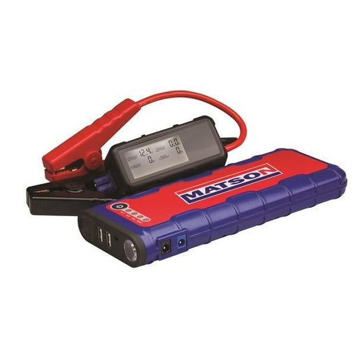 Matson Lithium 600A Jump Starter 18000mah MA18000 - United Tools Townsville