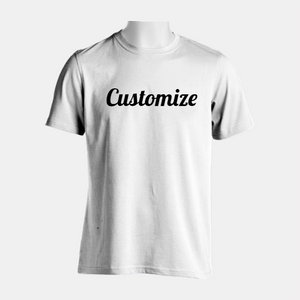 Designer Tool- Create A Custom Soft Cotton Tee (Front & Back)
