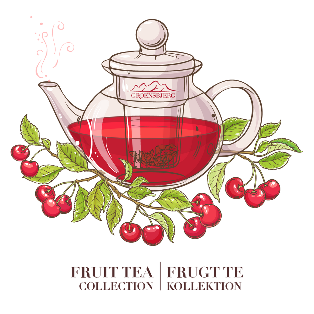 GROENSBJERG FRUIT TEA COLLECTION FRUGT TE KOLLEKTION