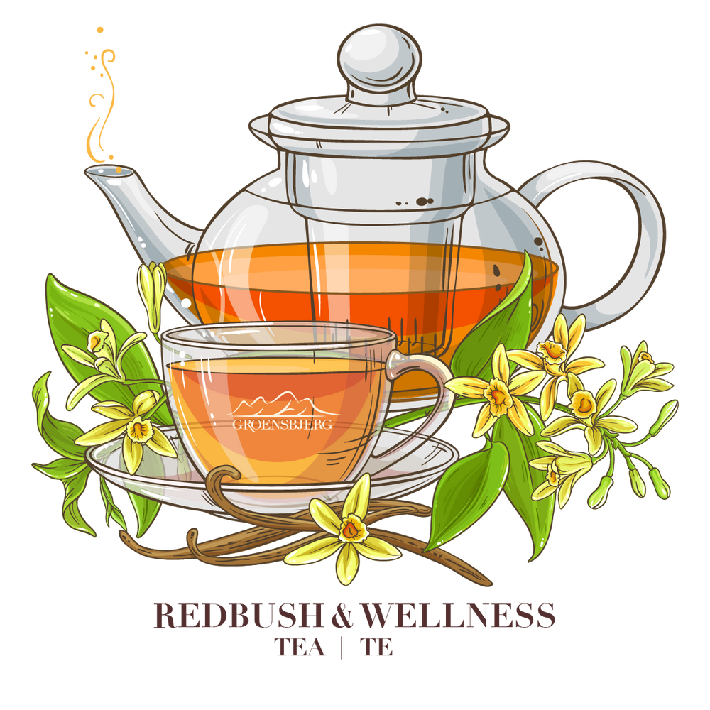 Groensbjerg Redbush Wellness Rooibos Tea Te