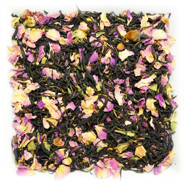 Rose Black Tea, Flavoured Black Tea - GROENSBJERG TEHANDEL
