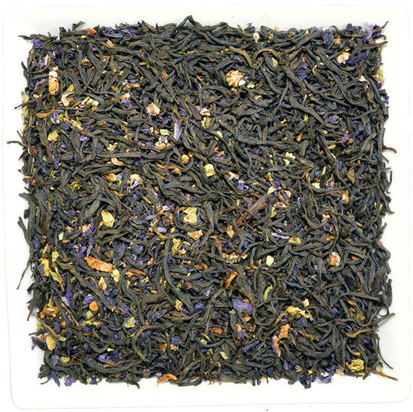 Blue Mallow Earl Grey, Flavoured Black Tea - GROENSBJERG TEHANDEL
